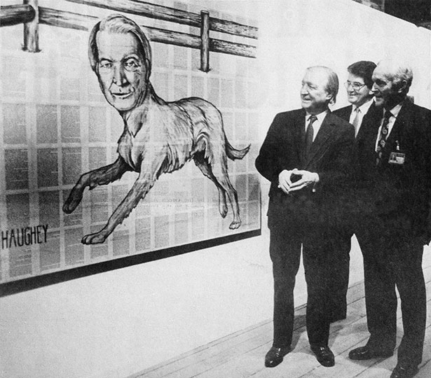 Charles-Haughey-encountering-a-painting-by-Tim-Rollins-and-KOS-in-1988
